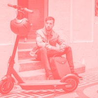 I go everywhere on Segway Ninebot's electric Kickscooter Max