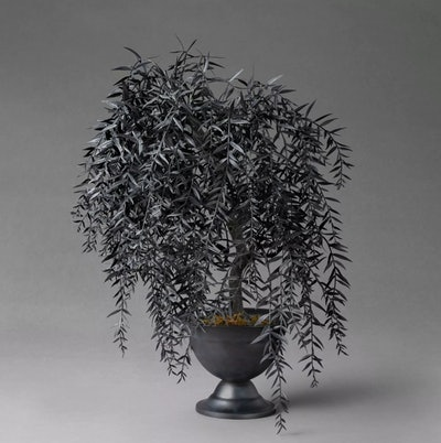 """22"""" Fauxtanical Friend Faux Willow Potted Plant"""