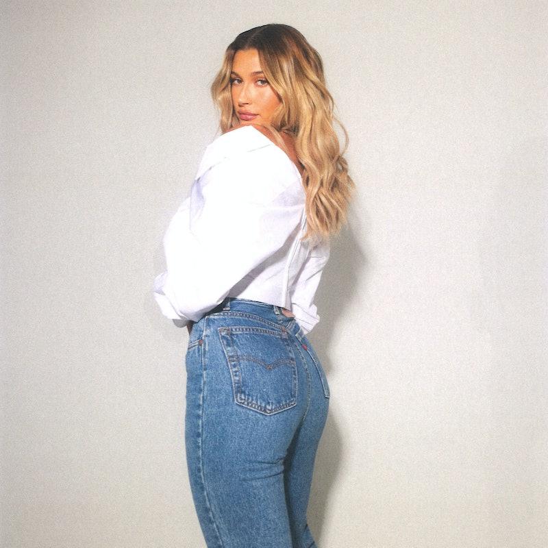 Hailey Bieber Levi's Secondhand Vintage Jeans