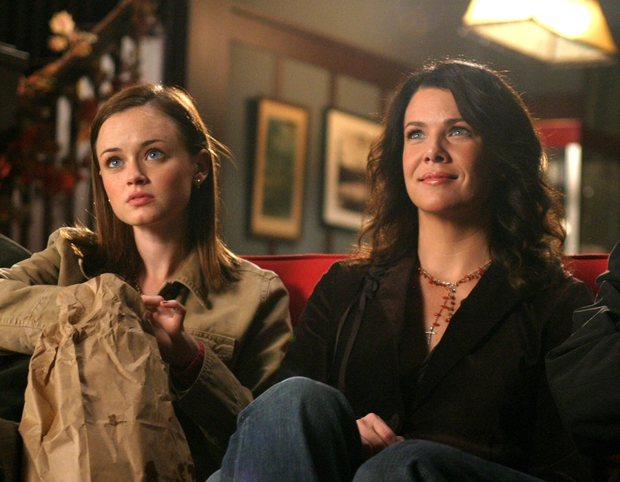 Rory and Lorelai Gilmore on Gilmore Girls.