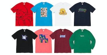 Supreme FW20 T-shirts