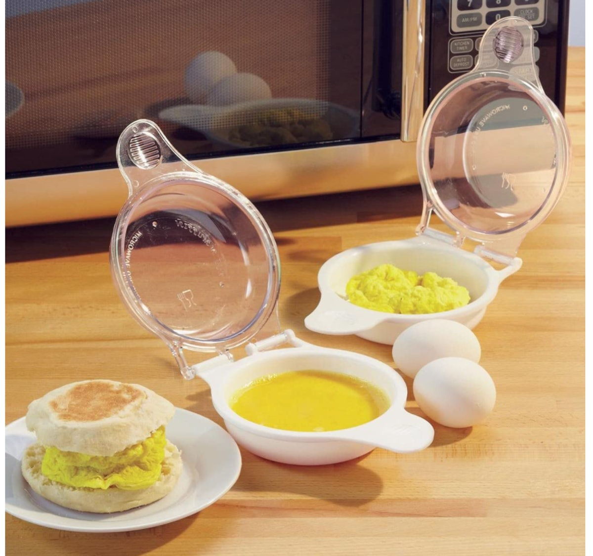 Old Home Kitchen Microwave Egg Cooker