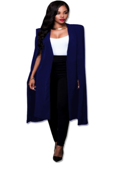 Ohh She Means Business Cape Blazer