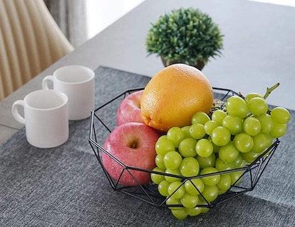 7U Metal Wire Fruit Basket