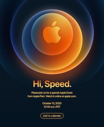 Apple iPhone 12 Pro media invite