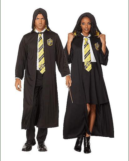 Spirit Halloween Adult Hufflepuff Robe Harry Potter