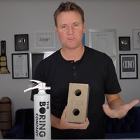 The Boring Company: watch rare limited-run brick take on the competition