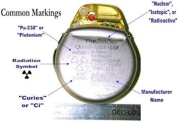 An nuclear pacemaker. Not quite an Arc Reactor.