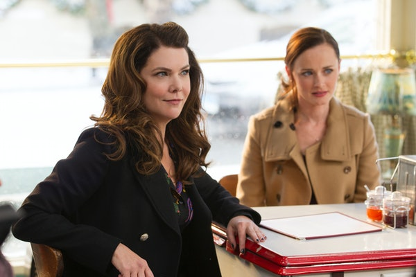 Lauren Graham and Alexis Bledel in 'Gilmore Girls: A Year in the Life'