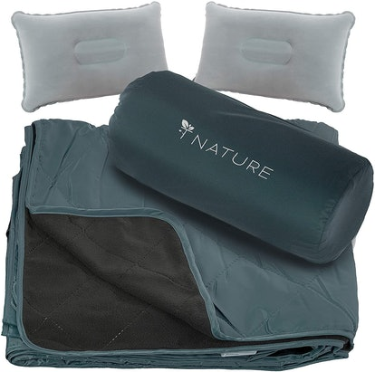 T Nature Waterproof Blanket Set