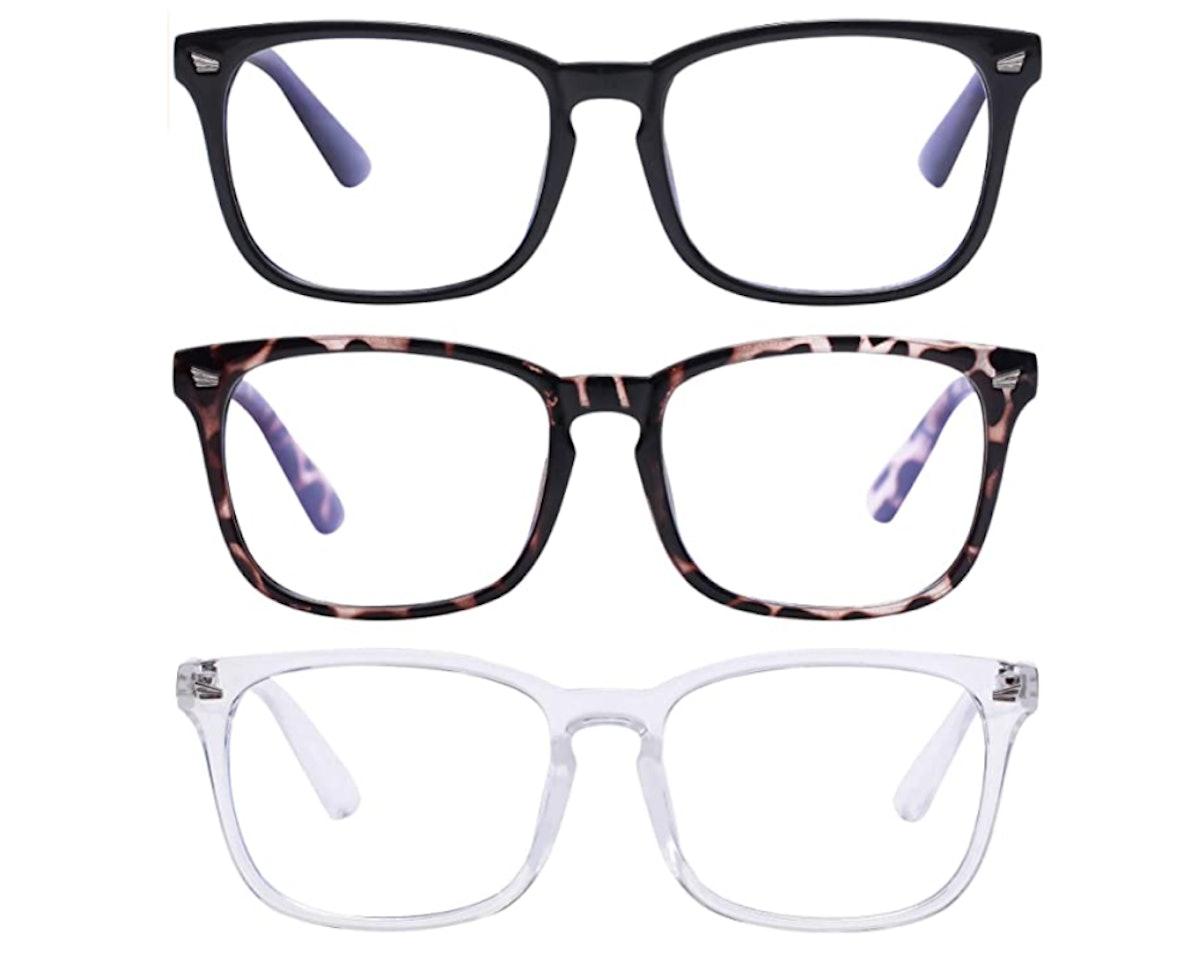 AIMADE Blue Light Blocking Glasses (3-Pack)