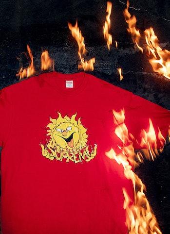Supreme FW20 Sun T-shirt