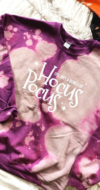 Hocus Pocus Disney Halloween Bleach Crewneck Sweatshirt