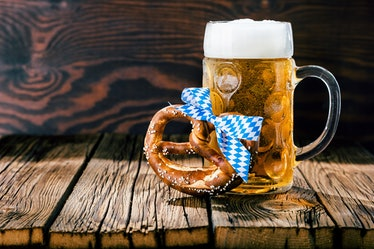 Here's where to buy Snyder's Pretzel Keg for Oktoberfest 2020 for the perfect combo.