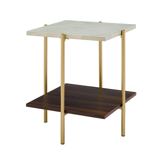 Jackie Multi-tone Square End Table