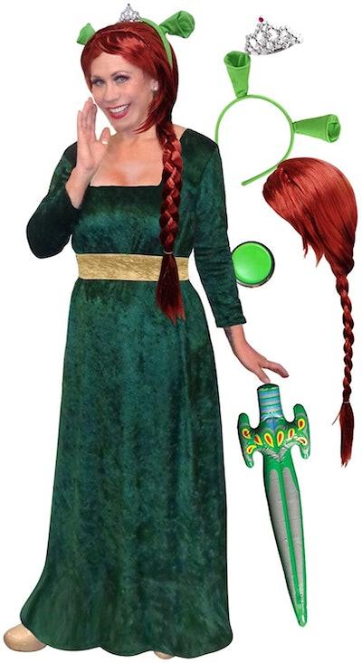 Sanctuarie Fiona Plus Size & Supersize Halloween Costume Deluxe Wig Kit