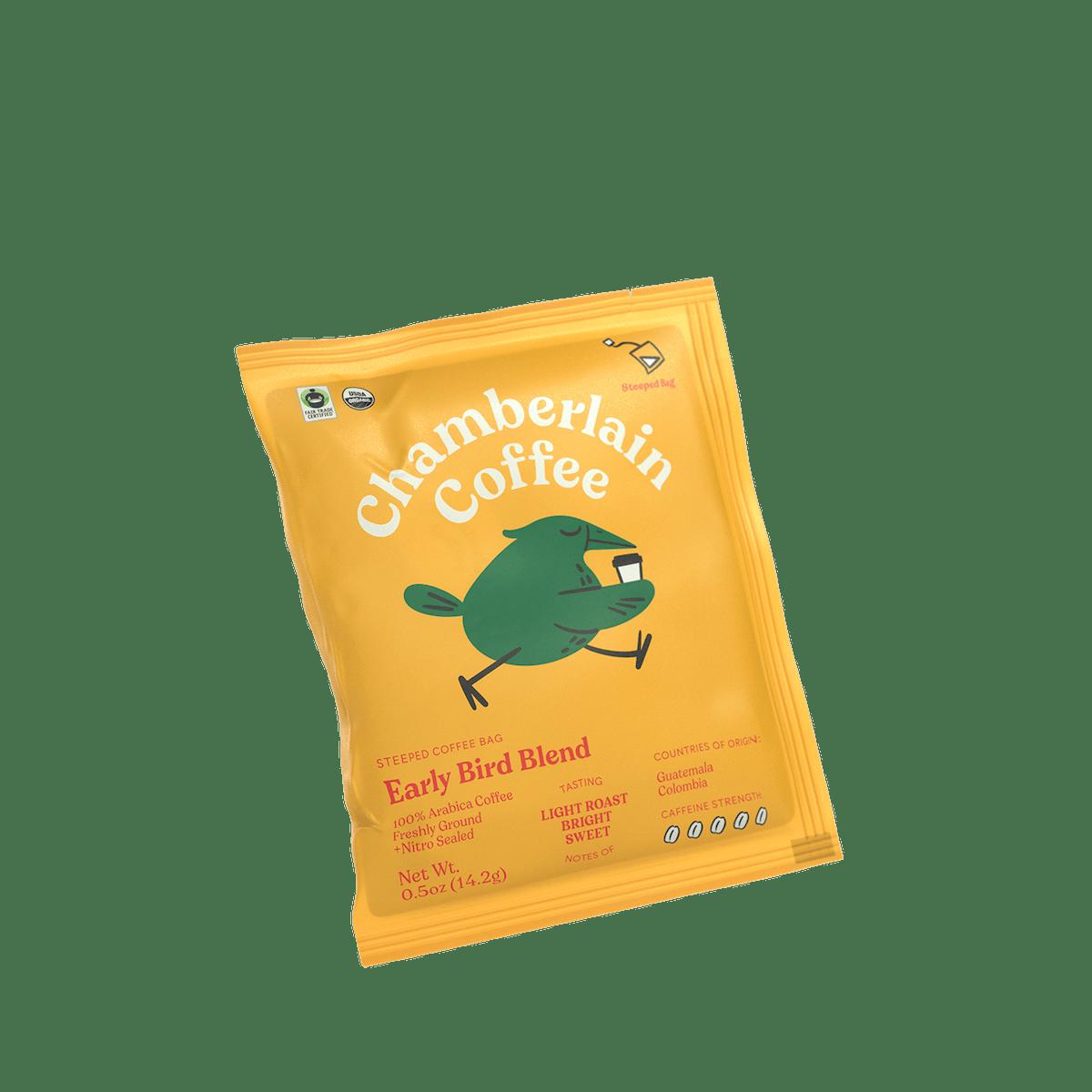 Early Bird - Chamberlain Steeped Bags