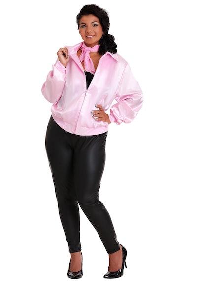 Plus Size Pink Ladies Jacket