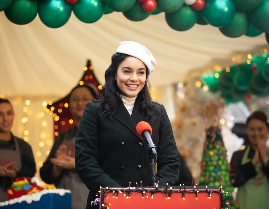 Vanessa Hudgens stars in The Princess Switch: Switched Again, coming to Netflix this 2020 holiday season.