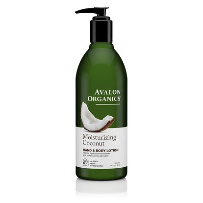 Avalon Organics Moisturizing Coconut Hand & Body Lotion