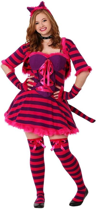 Plus Size Wonderland Cat Costume