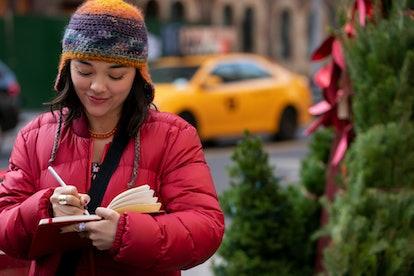 Midori Francis stars in Netflix's Dash & Lily.