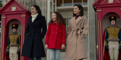 Vanessa Hudgens stars in The Princess Switch: Switched Again on Netflix for the 2020 holiday season.