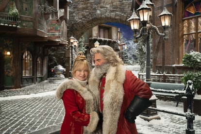 Goldie Hawn and Kurt Russell star in Netflix's The Christmas Chronciles: Part Two.