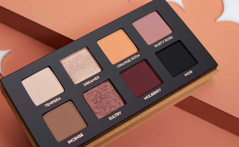 Anastasia Beverly Hills Soft Glam II review: up-close shot of open eyeshadow palette.