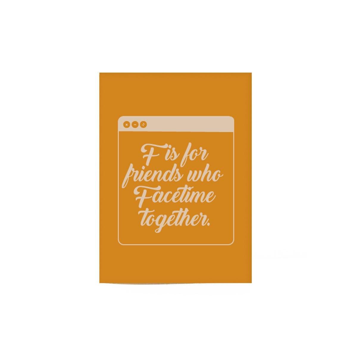 FaceTime Friends Card