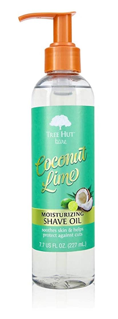 Tree Hut bare Moisturizing Shave Oil in Coconut Lime (7 oz)