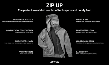 ateyo zip-up