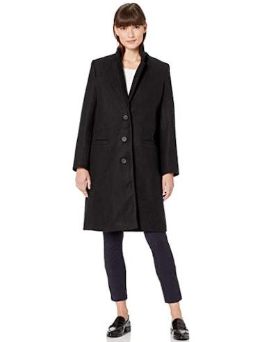 Amazon Essentials Women's Oversized Button-Front Coat