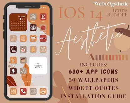 IOS14 App Icons Fall Theme