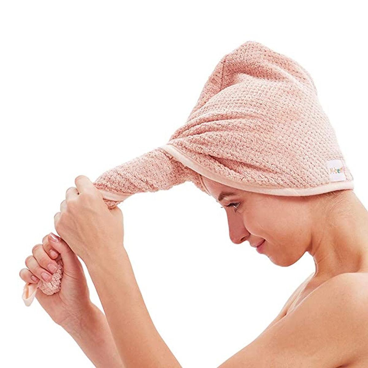 M-bestl Hair Towel Wrap (2-Pack)