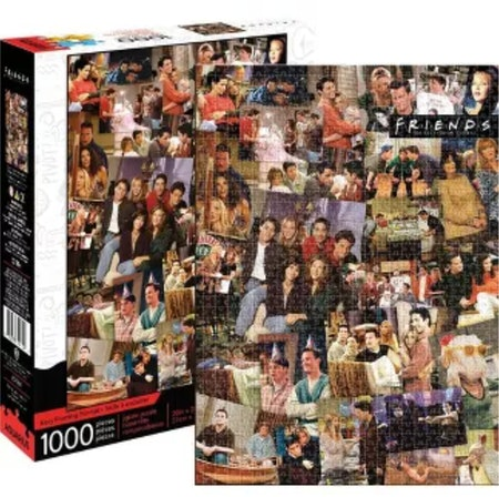 'Friends' Collage 1000 Piece Jigsaw Puzzle