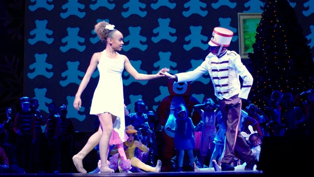 Follow these young dancers as they perform 'The Nutcracker'