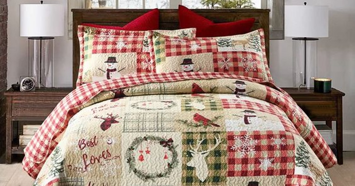 Christmas Bedding Sheets For The Whole Family So Visions Of Sugarplums Can Dance In Your Heads
