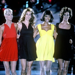 Naomi Campbell, Cindy Crawford, Linda Evangelista, & Christy Turlington