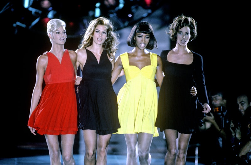 Naomi Campbell, Cindy Crawford, Linda Evangelista, & Christy Turlington