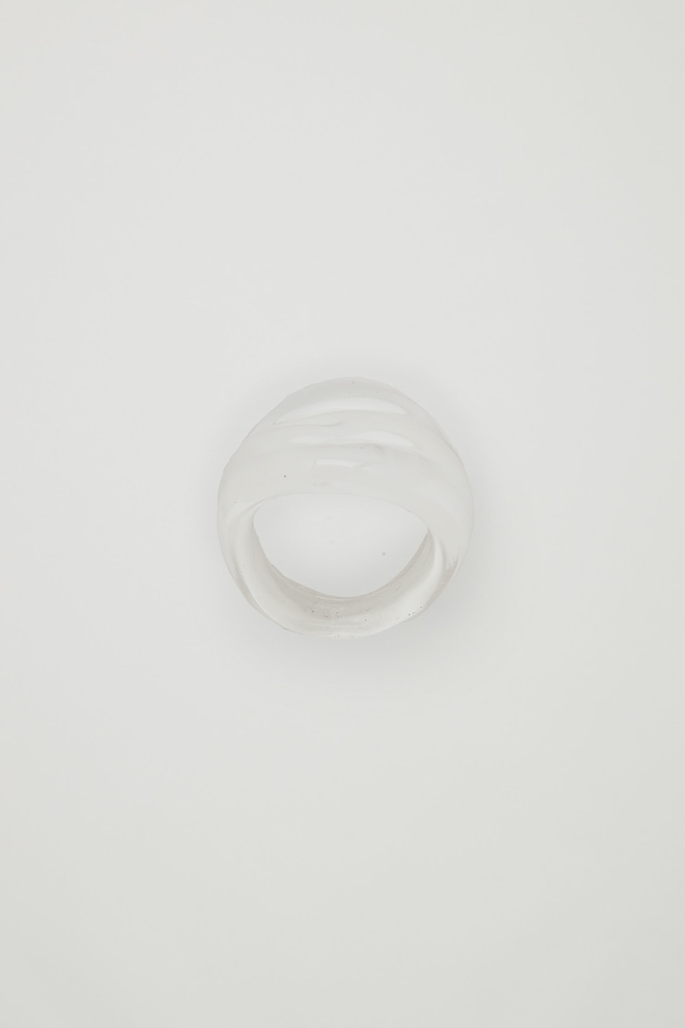 Recycled Glass Translucent Ring