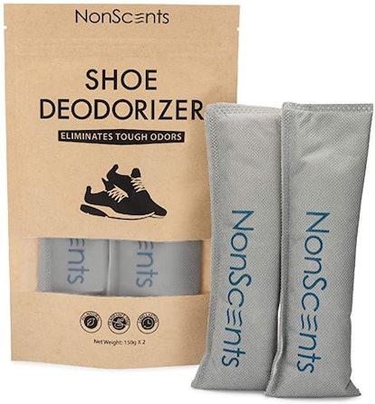 NonScents Shoe Deodorizer (2-Pack)