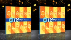 Walmart has 12 days of cheese calendars this holiday season.