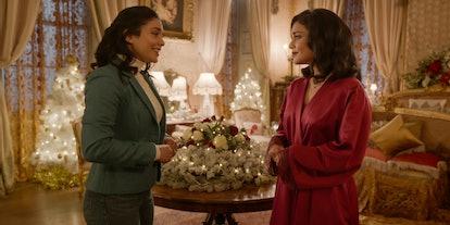 "Vanessa Hudgen in ""The Princess Switch"" sequel"