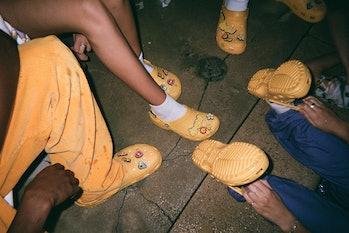 Justin Bieber Crocs