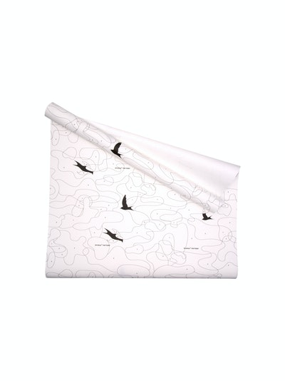 Off-White Bird Print Wallpaper
