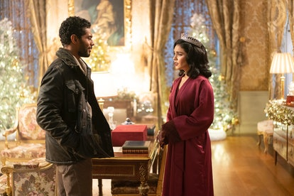 "Nick Sagar and Vanessa Hudgens in ""The Princess Switch"" sequel"