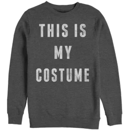 Women's Halloween My Costume Sweatshirt