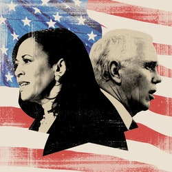 Sen. Kamala Harris and Vice President Mike Pence