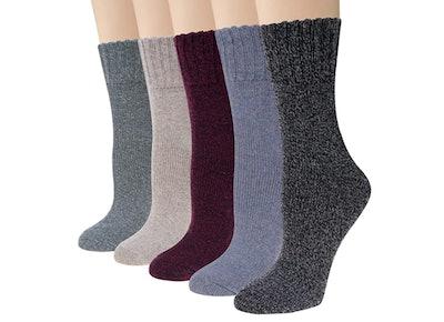 Justay Wool Socks (5-Pack)